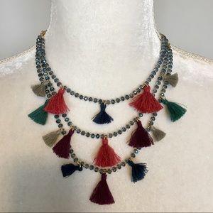The Loft Boho Tassel Necklace